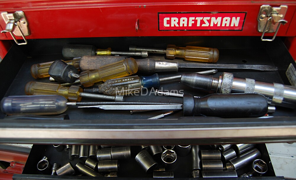 A Man's Tools by MikeDAdams