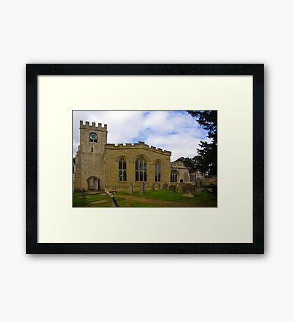 St Peter's Church-Brafferton Helperby,North Yorks Framed Print