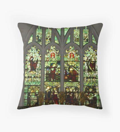 Window #1 St Peter's Church  Throw Pillow