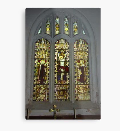 Window #2 St Peter's Church Metal Print