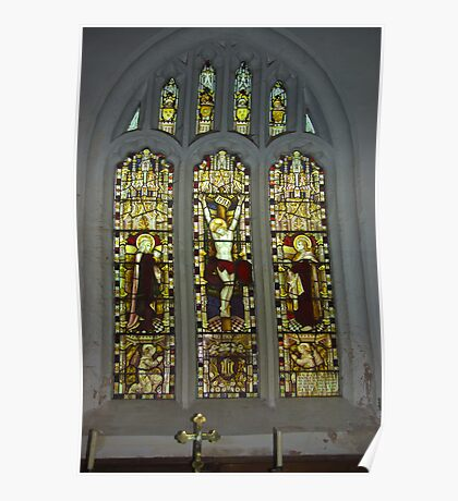 Window #2 St Peter's Church Poster