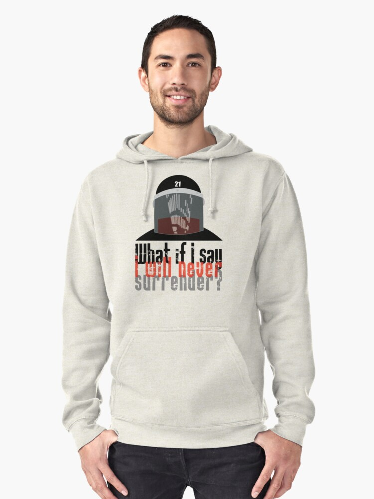 The Pretender Pullover Hoodie Front