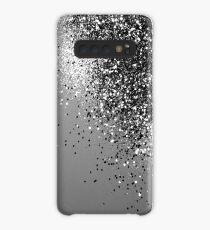 Funda/vinilo para Samsung Galaxy Espumoso gris plateado Lady Glitter # 1 #shiny #decor #art