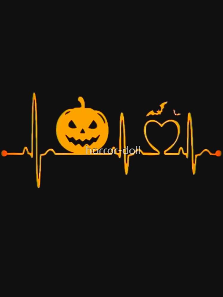 Halloween Heartbeat by horror-doll
