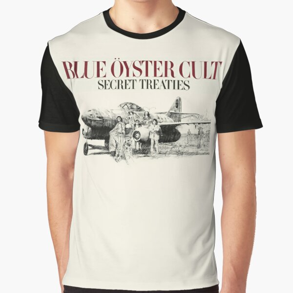 Blue Oyster Cult: Secret Treaties Graphic T-Shirt