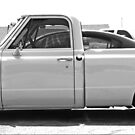 Low Down Chevy Pickup by Chet  King