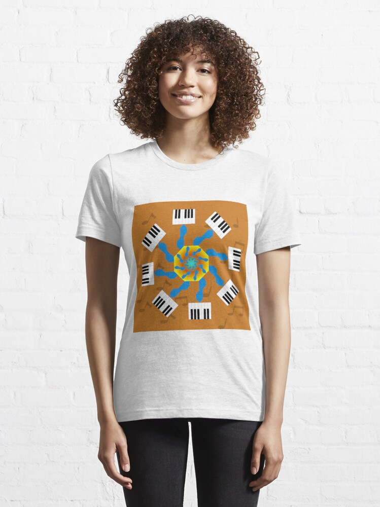 Alternate view of Creating Melodies Essential T-Shirt