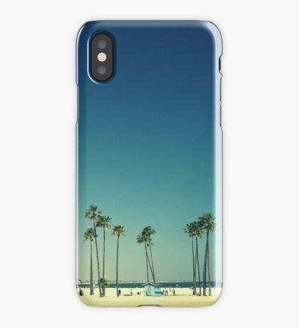 Summer Beach Blue iPhone Case/Skin