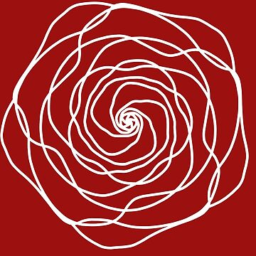Rotation drawing: roses mandala by Garaunt
