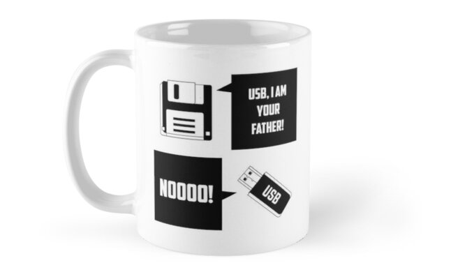 USB: i am your Father Floppy disc by CasualMood