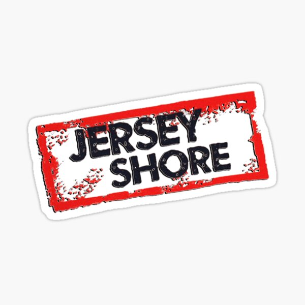 Jersey Shore Logo Sticker