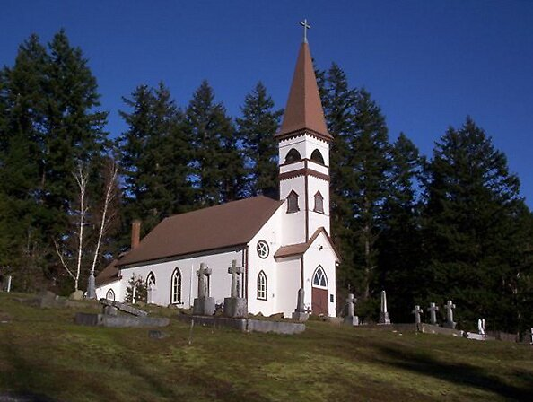 Quot St Ann S Church Duncan Vancouver Island Bc Quot By