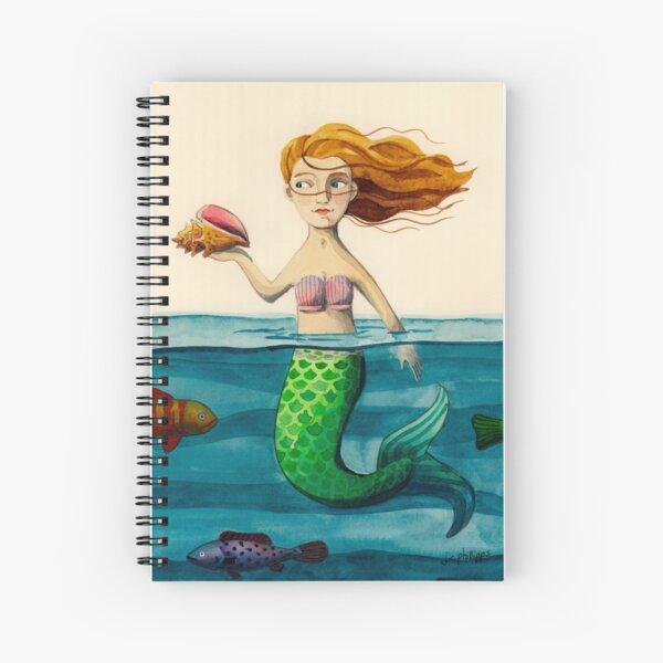 Wind & Water Mermaid Cahier à spirale