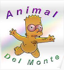 Bart Simpson, Animal of the Mount (Venezuelan Design) Poster