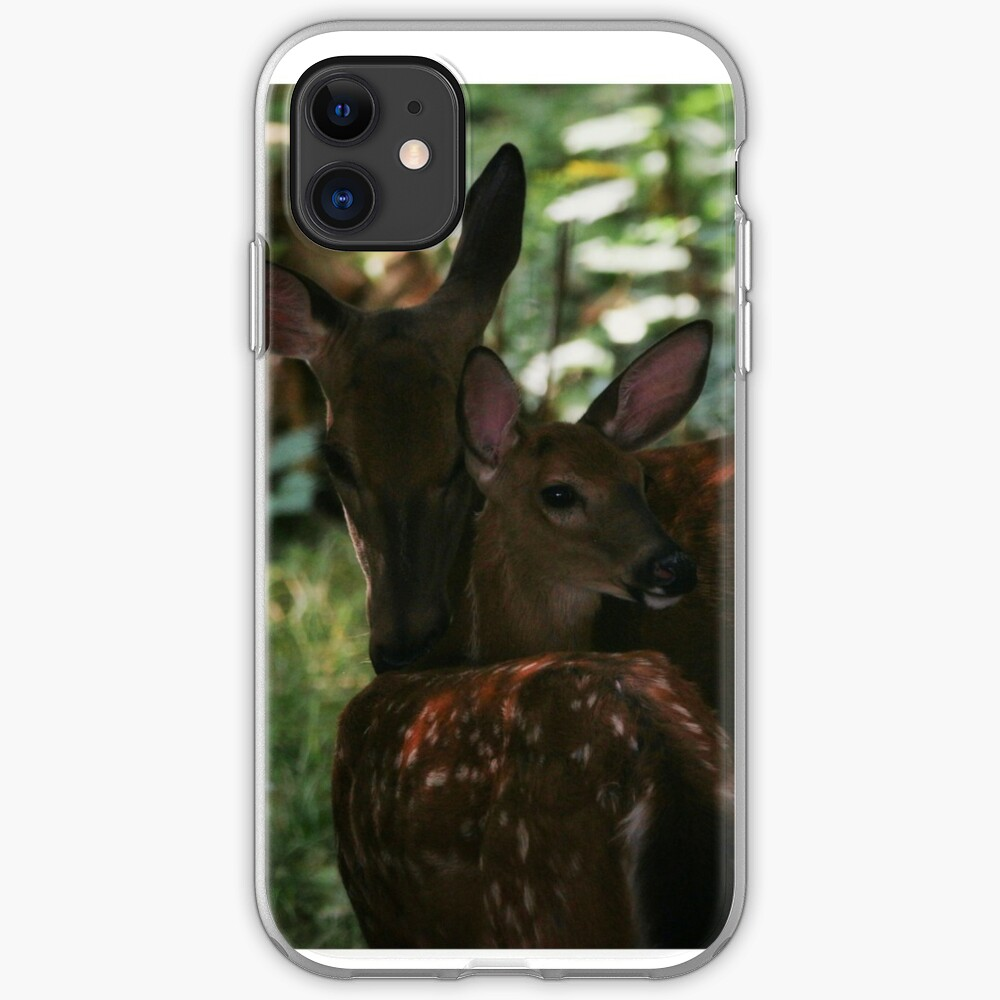 Mother and Fawn iPhone Case & Cover