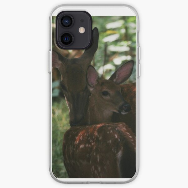 Mother and Fawn iPhone Soft Case