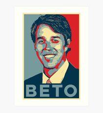 Vote Beto Art Print