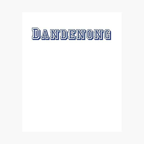 Dandenong Photographic Print