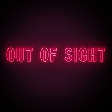 Out of sight Neon Letters by bennnie1177