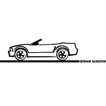 2007 Ford Mustang Convertible by azoid