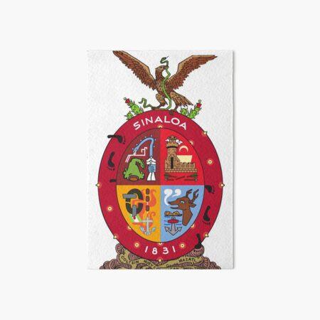 Coat of Arms of Sinaloa, Mexico Art Board Print