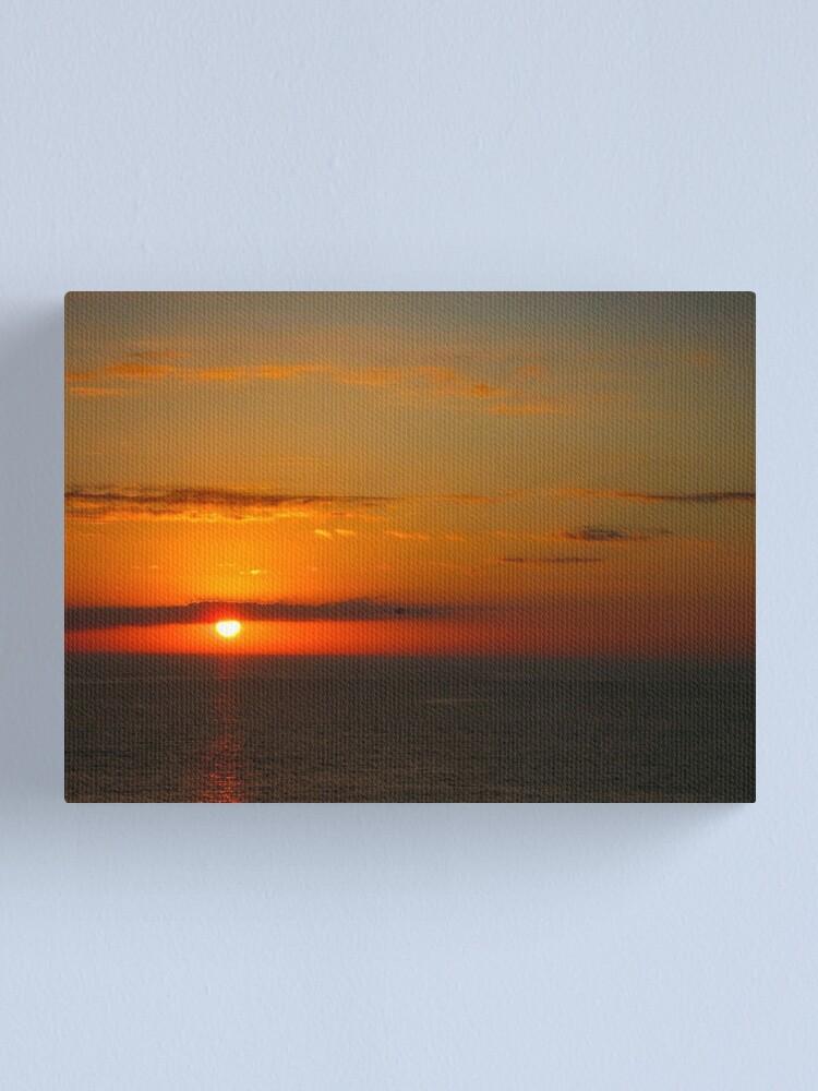 Alternate view of Florida Sunset Canvas Print
