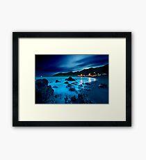 Ngawi silk drift Framed Print