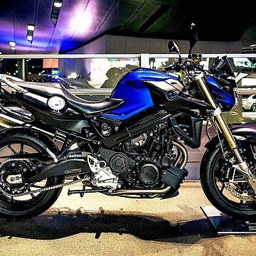 Deepak Motorcycle Item Three by posterbobs
