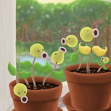 Potted Bellsprout by Swainathan