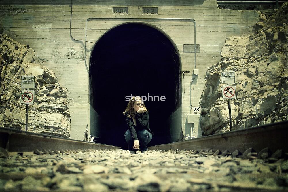 Traveling Swallowing Dramamine by Stephanie Newton