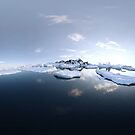 360° Arctic Panorama by Colin Behrens
