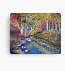 Nature's paint brush Canvas Print