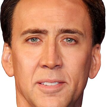Nicolas Cage's Head by Shappie112