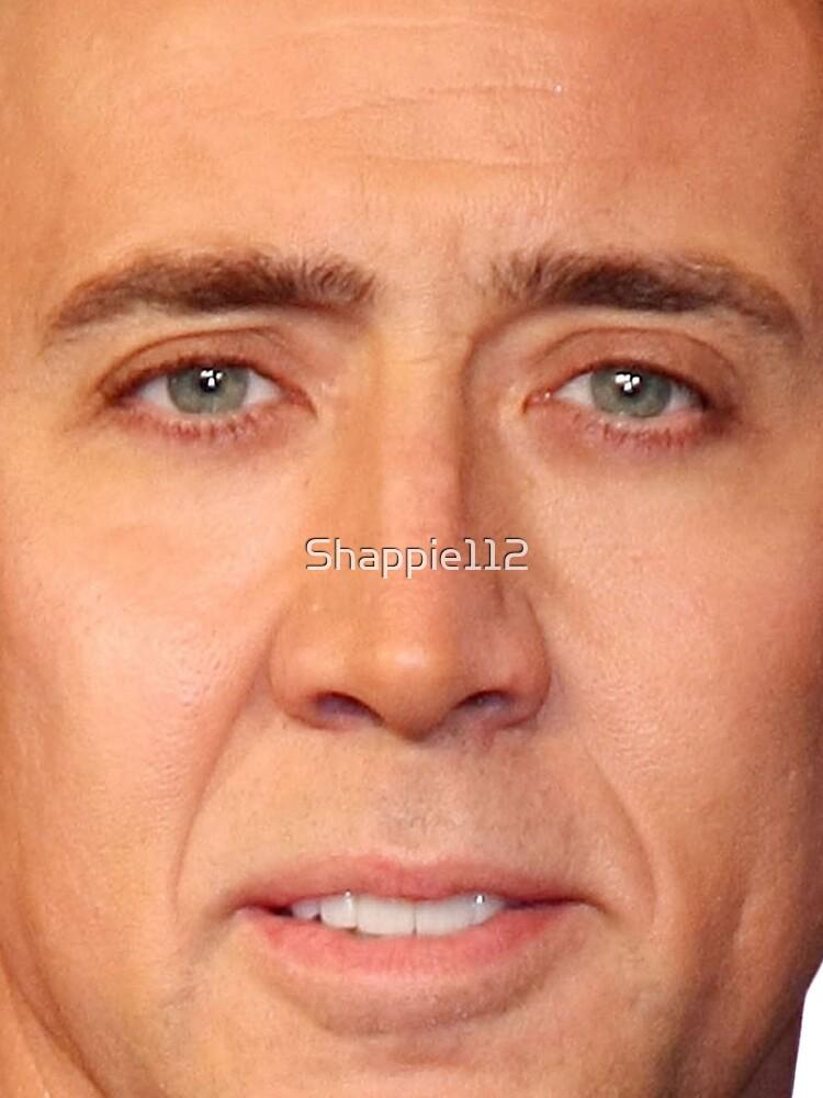 Nicolas Cage's Head by Shappie112