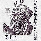Bagpipes Player... by Albrecht Dürer, 1514 by edsimoneit
