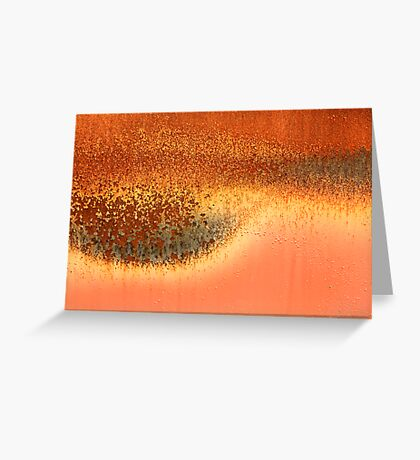 burnt out Greeting Card
