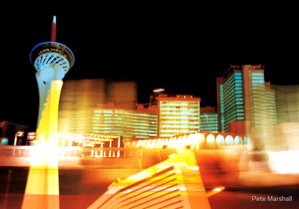 Las Vegas Lights by Pete Marshall