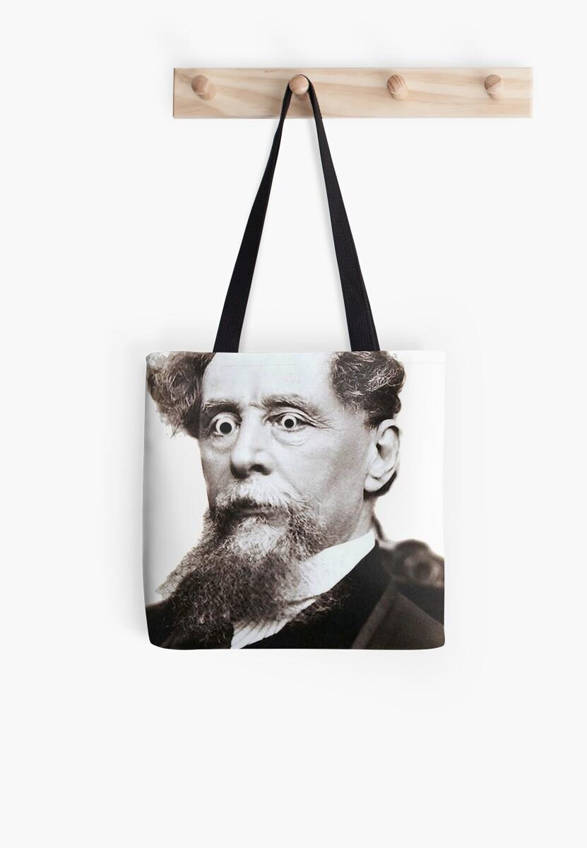 Googly Eyed Dickens by haayleyhaggerty