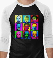 Horror Pop Men's Baseball ¾ T-Shirt