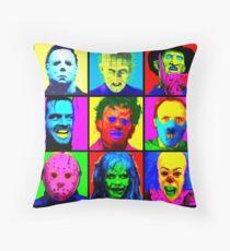 Horror Pop Throw Pillow