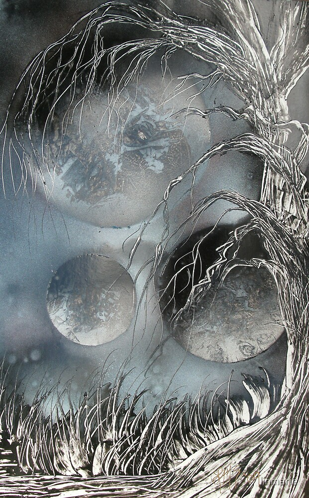 Night of the Orbs by linmarie