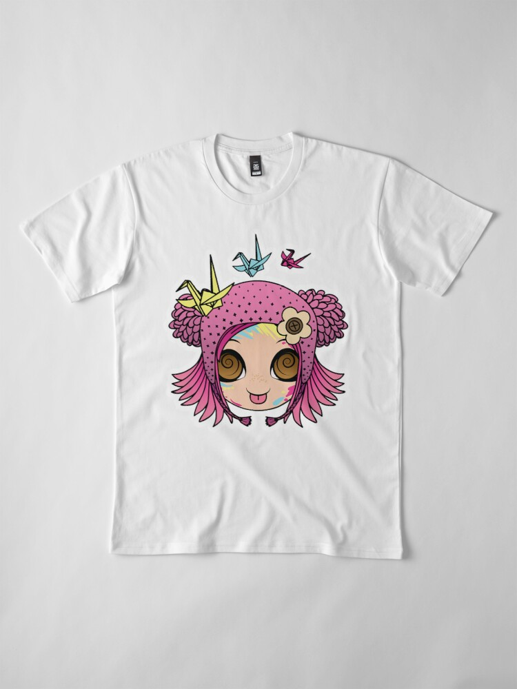 Alternate view of Cherry - Crafty Girl! Premium T-Shirt