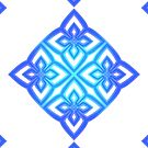 Blue Hydrangea Emblem by blind-luck