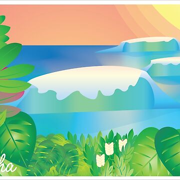 Waves and Aloha by ConsilienceCo