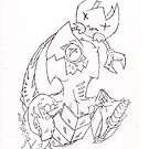 Alien Crab Sketch by GD-Kitkat