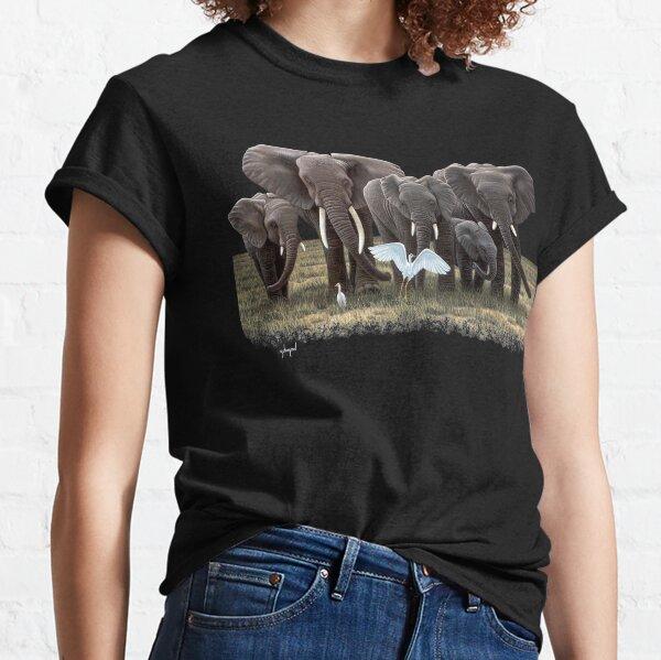 Elephant Family, I love elephants Classic T-Shirt