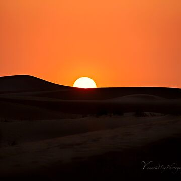 Sunset over the Dunes - Dubai by Photograph2u