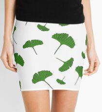 Ginkgo leaf pattern, ginkgo biloba, australian leaf, leaves, nature, gingko Mini Skirt