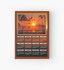Sunrise Calendars 2019-2020 on a Hardcover Journal Hardcover Journal