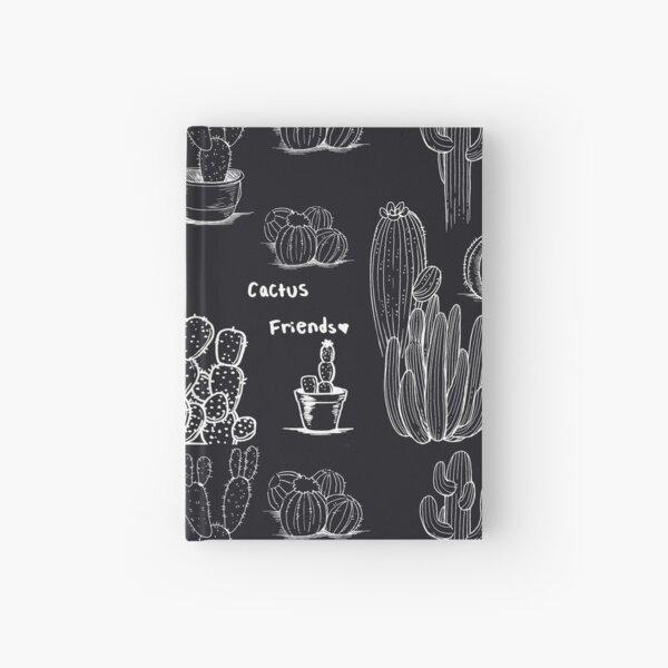 Cactus friends - Night Hardcover Journal
